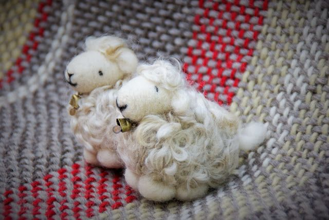 ovejitas coleccionables 100% lana