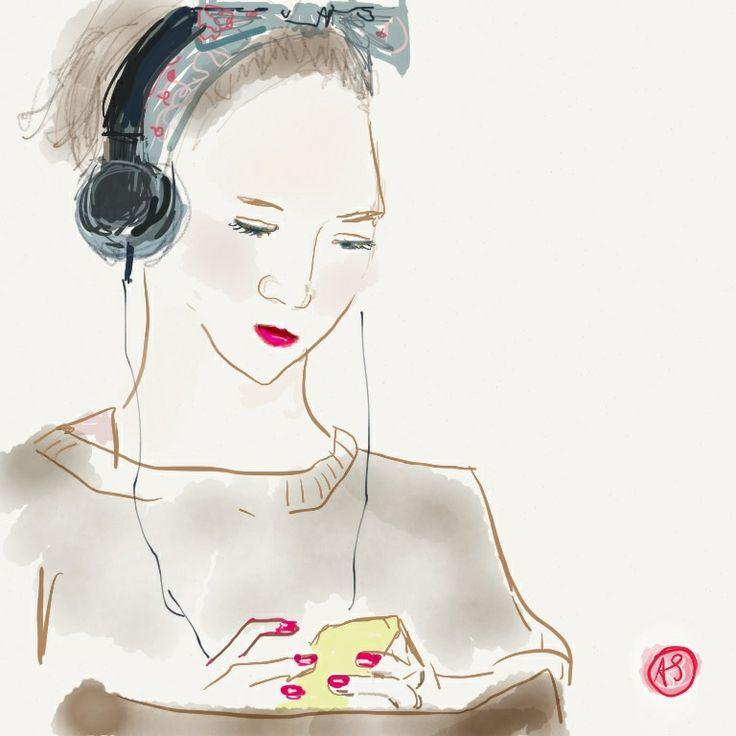 Listening on the subway