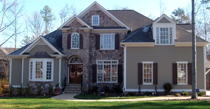 1000 images about exteriors of homes we have built on for Pinckney garage door