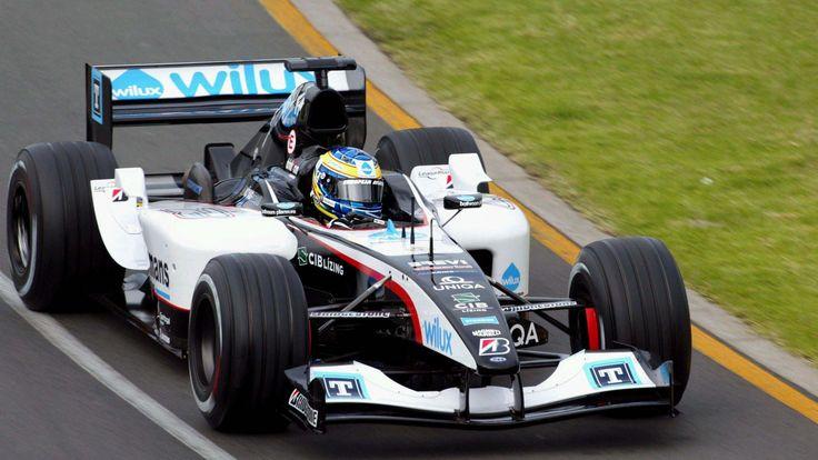 Gianmaria Bruni - 2004 - Minardi PS04 - Australian GP