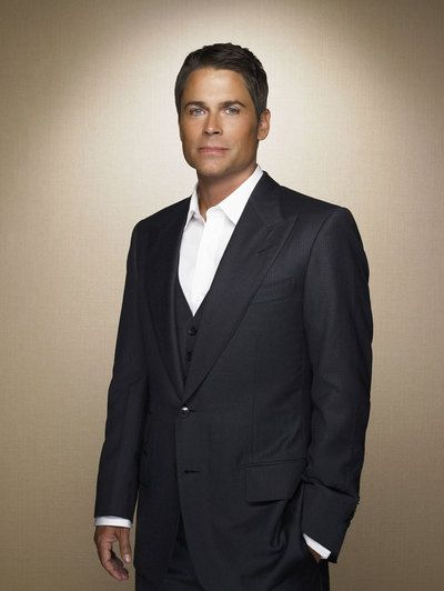Rob Lowe...somehow manages to get hotter as he gets older!