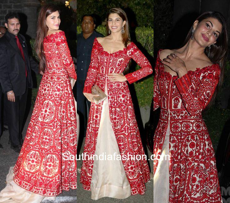 Jacqueline Fernandez in Manish Malhotra