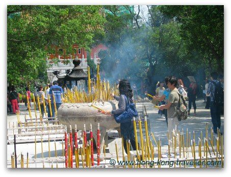 Po Lin Monastery Incense Offerings #hongkong