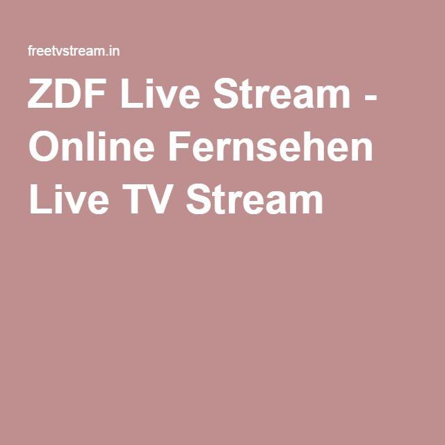 ZDF Live Stream - Online Fernsehen Live TV Stream