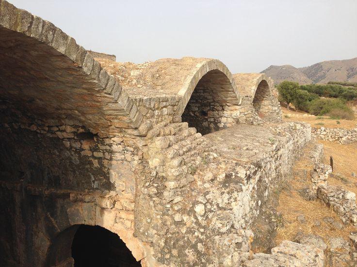 Les citernes Romaines