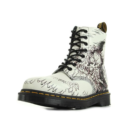 Dr. Martens Pascal Demented are go backhand - Réf : 21093102