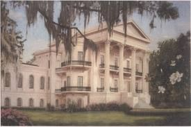 A rendering of Belle Grove before she was abandoned