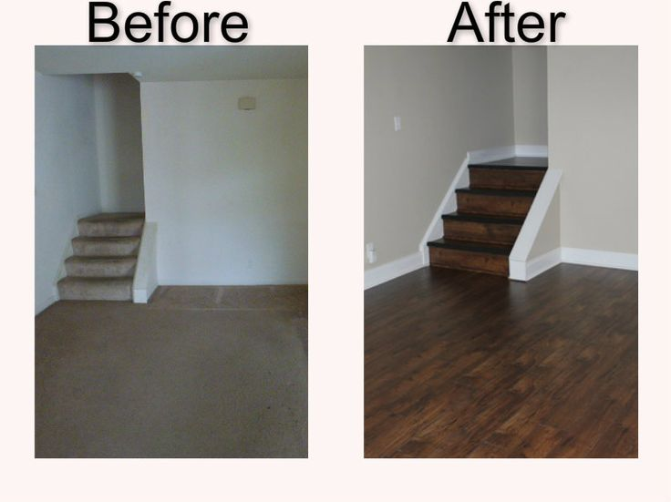 Hardwood Flooring - Before and After