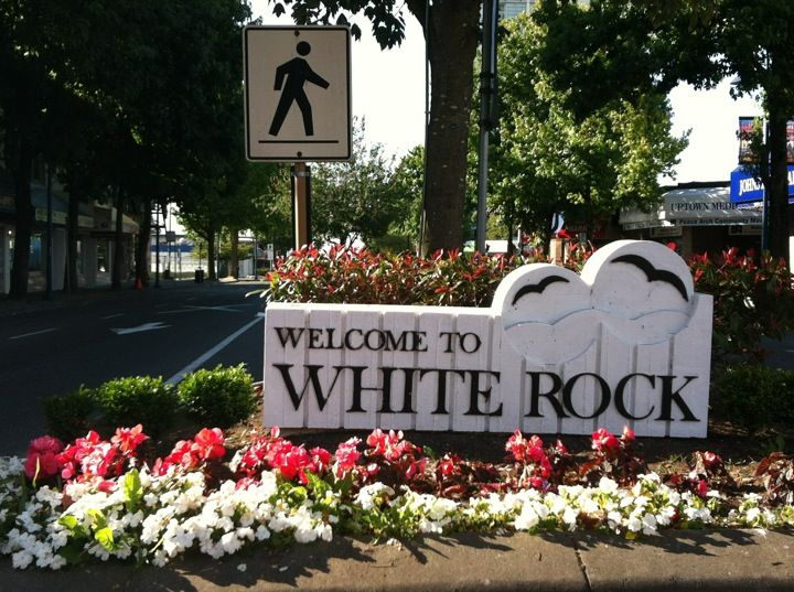 White Rock in British Columbia