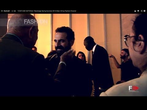 "▶ ""COSTUME NATIONAL"" Backstage Spring Summer 2014 Milan HD by Fashion Channel - YouTube #costumenational #backstage #summer #2014 #Milan #fashion #channel #fashionchannel #costume #national"