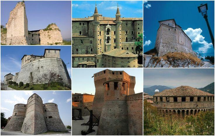 Unite dall'arte prima che ancora dalla politica. Queste sono oggi le Marche, l'Umbria, la Toscana e l'Emilia Romagna. Raffaello si formò nella natia Urbino