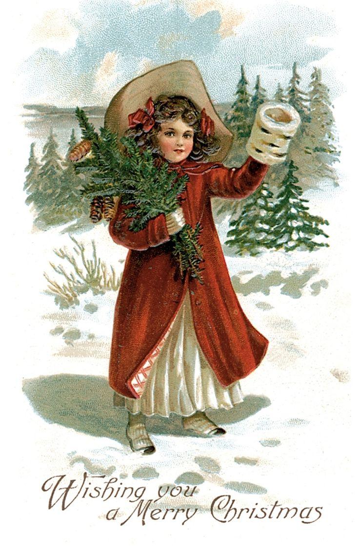 Ирландские открытки на рождество
