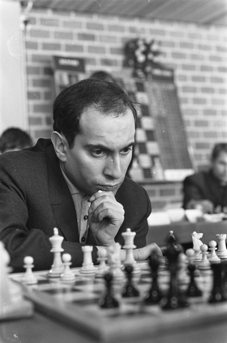 Mikhail Tal - Soviet-Latvian Chess grandmaster and eighth World Chess Champion