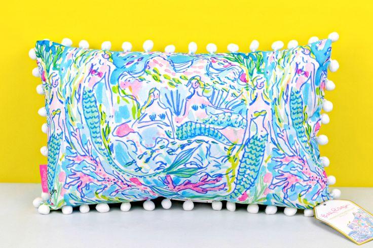LILLY PULITZER: Medium Pillow - Mermaid