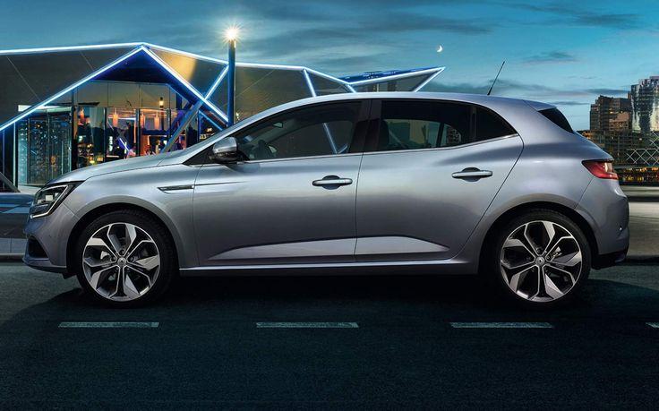 New Renault Megane 2016 - lateral