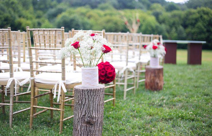 Bn Wedding Décor Outdoor Wedding Ceremonies: Best 20+ Red Gold Weddings Ideas On Pinterest