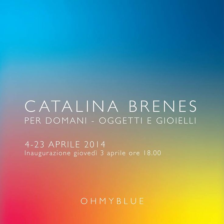 I had the great opportunity to do a solo show at Oh my blue gallery in Venice where I presented my latest work in jewelry and objects. Hope you can visit, it will be open until the 23 rd of April 2014.
