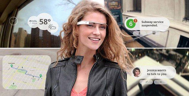 Google trabalha em óculos de realidade aumentada (Veja Vídeo)