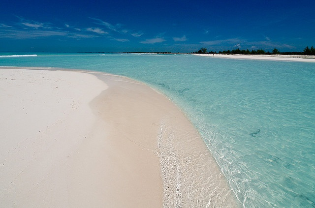 Playa Paraiso on Cayo Largo del Sur, Cuba.