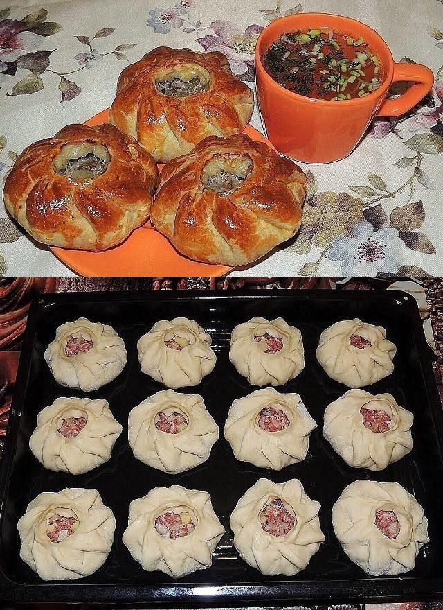 Вак балиш - маленькие пироги с мясом и картошкой | Четыре вкуса