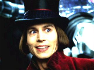 Charlie and the Chocolate Factory...(Willy Wonka)
