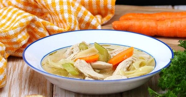 Soups On! Crockpot Chicken Noodle Soup Is The Easiest Way To Enjoy This Classic