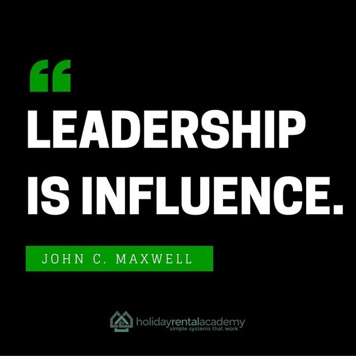Influence not Authority.
