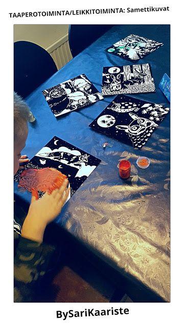 leikit, aistileikit, maalaus, samettikuva