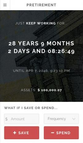 Your money: countdown to retirement will help you to save?