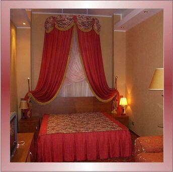 Балдахин - шторы для спальни над кроватью