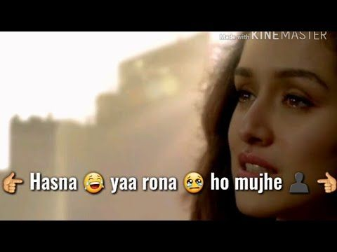 Sad song status || Phir bhi tumko chahungi || Female version - YouTube
