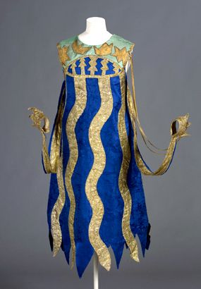 Ballets Russes ~ Natalia Goncharova ~ Costume for a squid,  c 1916 from Sadko. ~ http://nga.gov.au