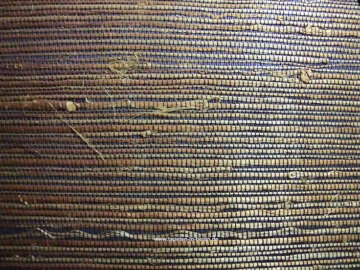 Grastapete Jute Faser Tapeten goldbraun 0003 online kaufen