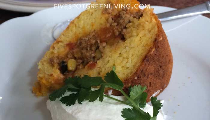 Easy Tamale Recipe in a Bundt Pan