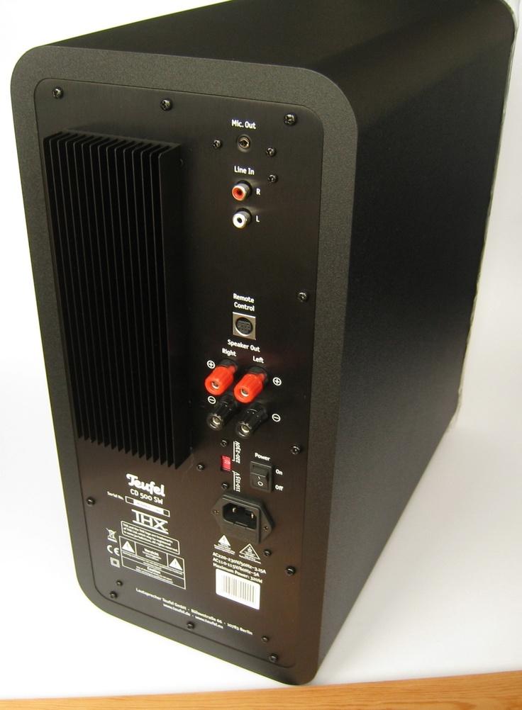 Teufel Concept D500 Subwoofer - Heimkino - Mehr Unter: http://media-mixture.de/technik/test-teufel-concept-d-500-2-1-lautsprecher-system-audio-fur´s-heimkino/