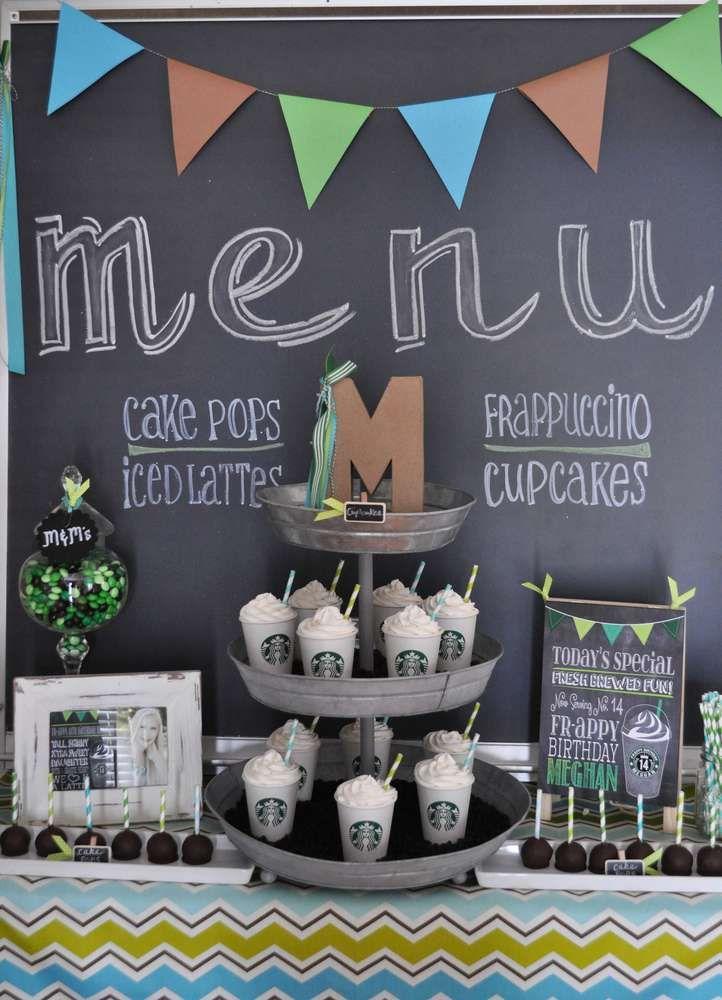Free Birthday Starbucks ~ Starbucks birthday party ideas birthdays photos and