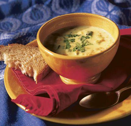 Paleo Pumpkin Flower Soup (Sopa de Flor de Calabaza)
