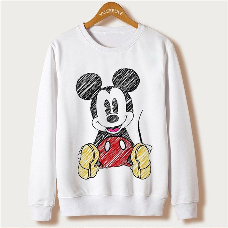 Mickey Mouse - Super Fun And Super Warm - Women's Full Sleeve Casual Sweatshirt