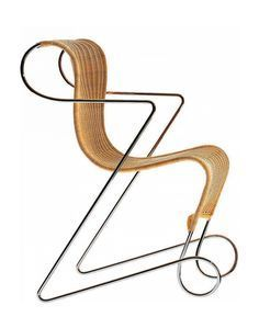 Gorgeous furniture design by Israeli artist, industrial designer and architect Ron Arad. More industrial design via Ron Arad