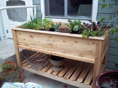How To Build A Raised Garden Table Gardens Raised