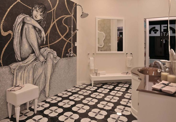 Bathroom Area - Arcadia Cersaie 2014
