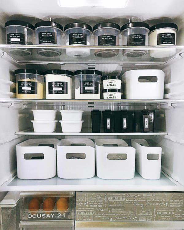 使いやすさ抜群 ニトリ のブランシリーズを使ったキッチン収納術 Folk キッチン収納術 収納box 収納