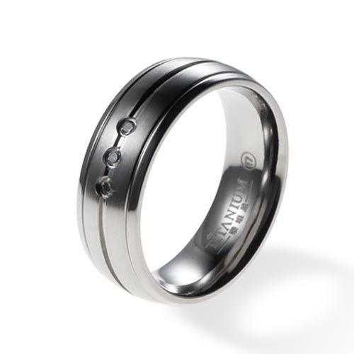 Clearance sale Titanium Ring 7mm Titanium Wedding