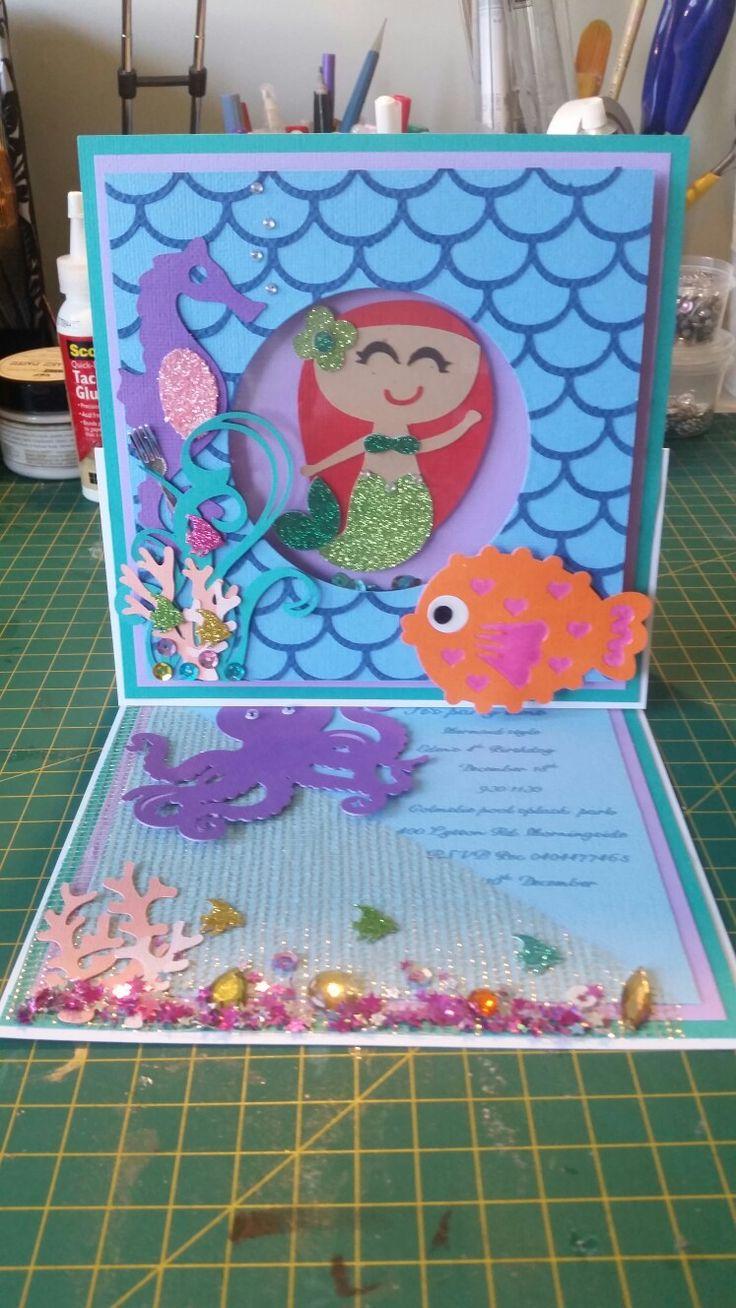 Mermaid invites