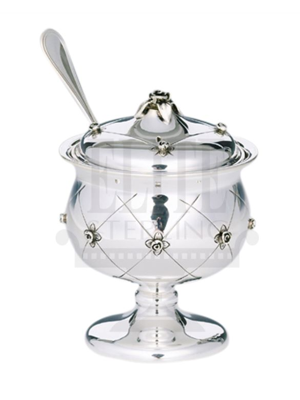 Chentoroza #Silver #Honey and #Sugar #Dish ( #Hazorfim )