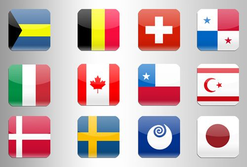 40 Free World Flags Icon Sets