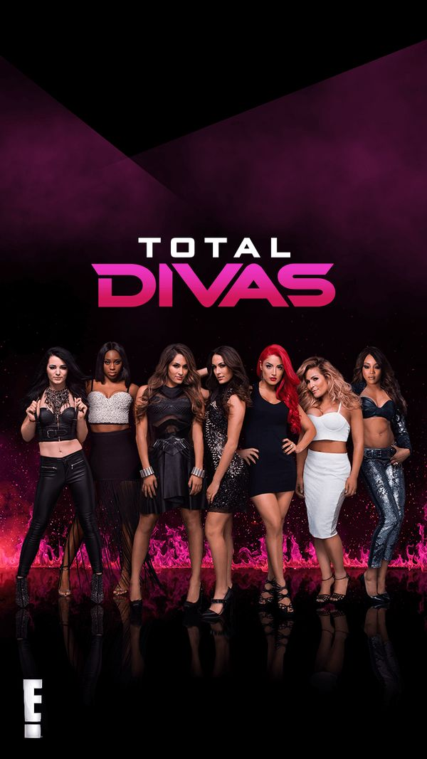 I absolutely love total divas. Would love to be one! Lol