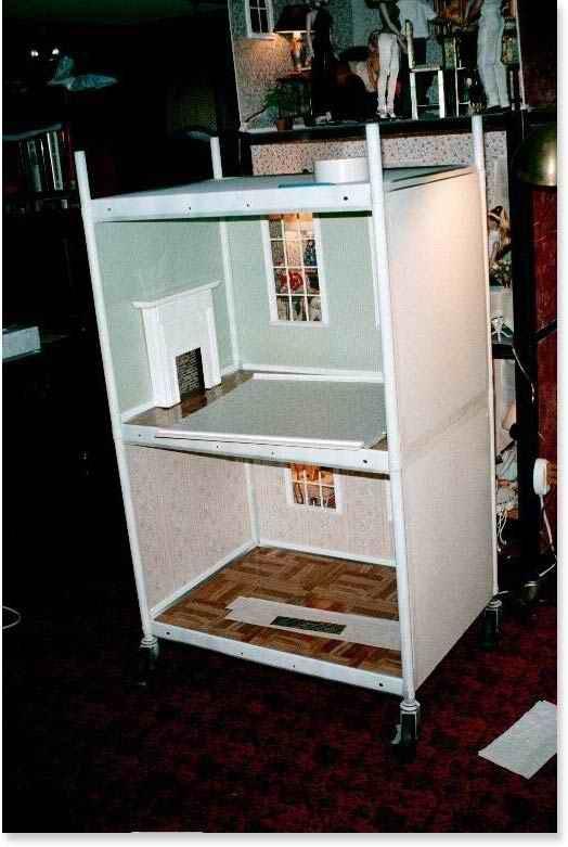 14 best av carts images on pinterest beverage cart bar cart and av cart dollhouse for barbie sciox Gallery