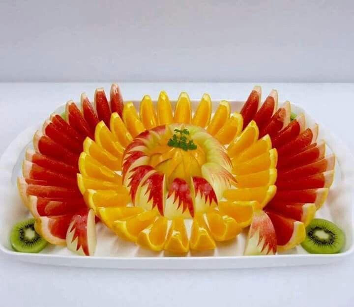 ===El arte comestible=== - Página 2 3978783fd41644ea238cad8cbc098b0c--fruit-art-food-art