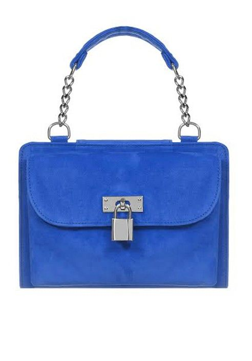 Pochette MINI - iBag Cobalt blue MADE IN ITALY  Shop now on www.dezzy.it